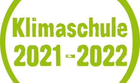 Siegel Klimaschule 2021 - 2022