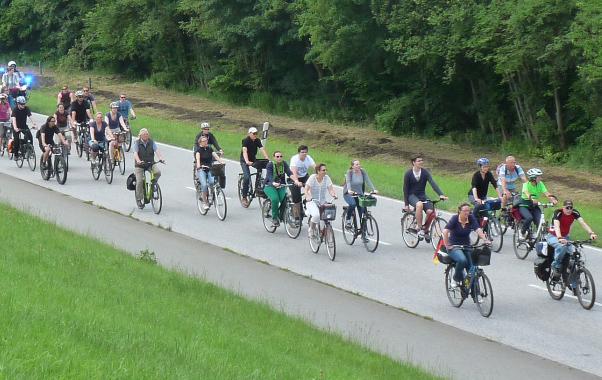 Save the Date: Fahrradsternfahrt am Sonntag 20. Juni 2021