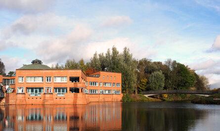 Die Geschäftsstelle des Beirates ist im Bürgerhaus Wilhelmsburg