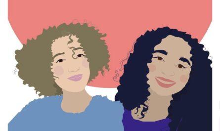 Gastgedanken, Illustration von zwei jungen Frauen