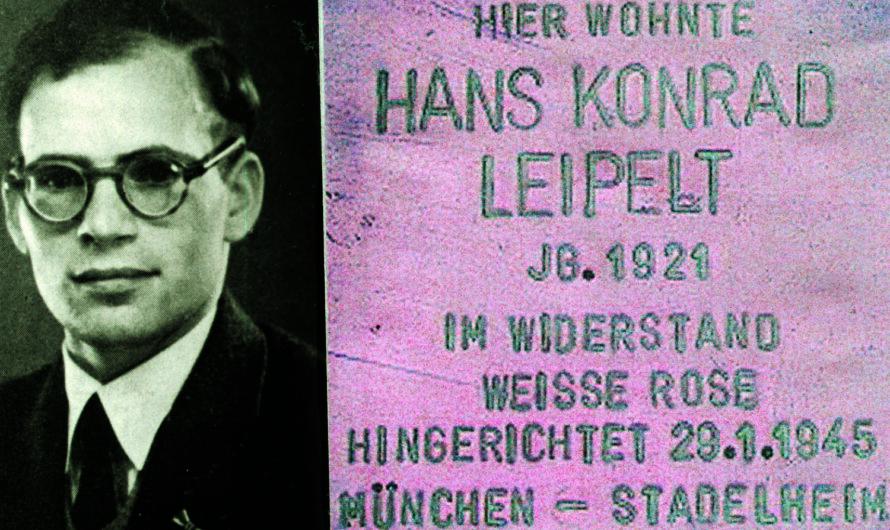 Zum 100. Geburtstag von Hans Leipelt