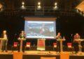 Kandidaten stellen sich kurz vor der Bundestagswahl auf Einladung von Zukunft Elbinsel Wilhelmsurg e.V.im Bürgerhaus Wilhelmsburg vor.